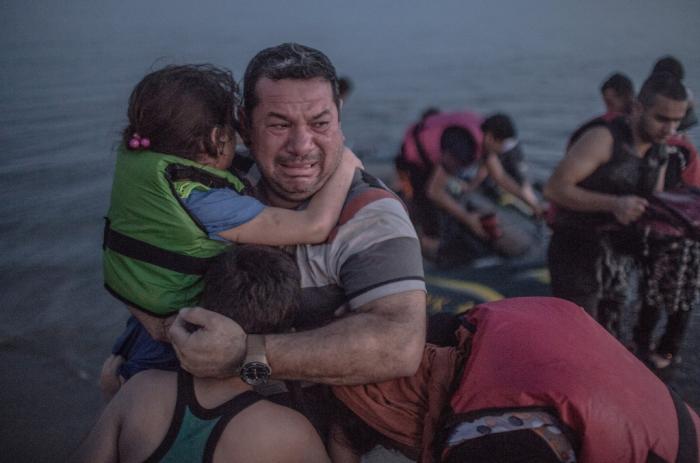 syrian family feeling the war